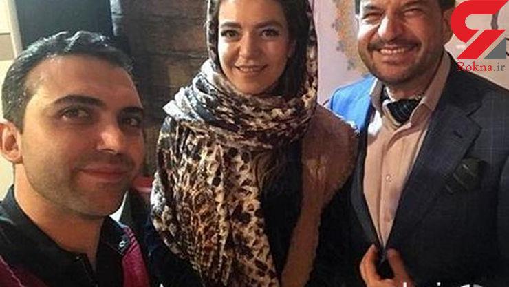 مجری ممنوع التصویر صدا و سیما در کنار دخترش+ عکس