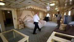 قایق مجلل صدام هتل شد! + عکس