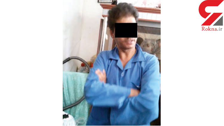 اولین عکس از قاتل شیطان صفت ندای 6 ساله در مشهد + عکس