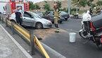 تصادف خونین در اتوبان امام علی/ 2 تهرانی زخمی شدند + عکس ها
