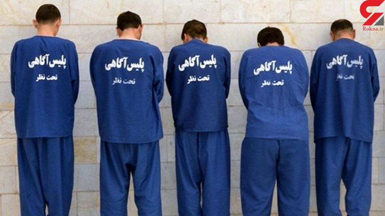 دستگیری سارقان مغازه با 15 فقره سرقت در یزد