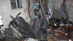 آتش سوزی شدید منزل مسکونی در خانی آباد + عکس