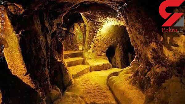 کشف اسرارآمیز شهری زیرزمینی و باستانی در ترکیه