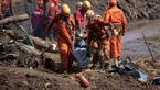 تلفات حادثه شکسته شدن سد در برزیل به 84 نفر رسید
