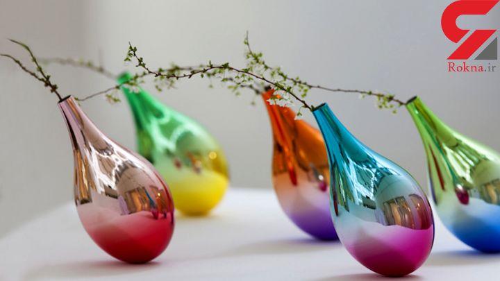 گلدان های متحرک با طراحی هنرمند ژاپنی +عکس