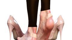 کفش تنگ و پاشنه بلند چه عوارضی دارد؟!
