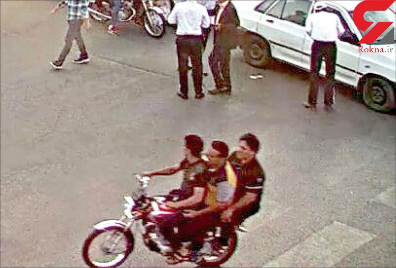 فیلم / فرار قاتل طلبه جوان مشهدی / این مرد موتورسوار را می شناسید؟ + تصویر و جزئیات
