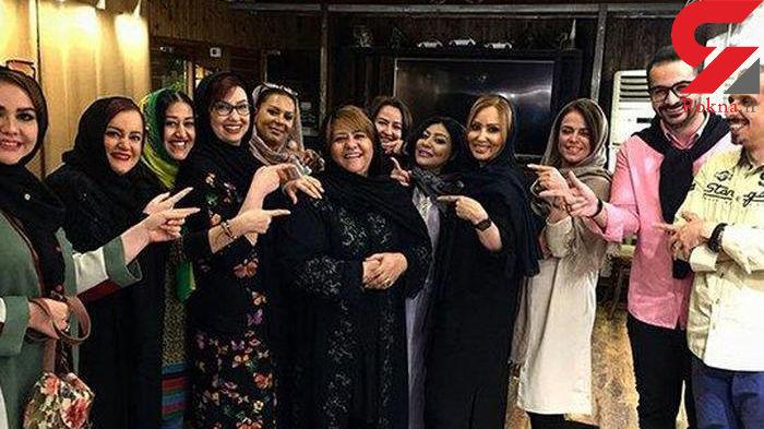 هنرمندان معروف در جشن تولد رابعه اسکویی +عکس ها