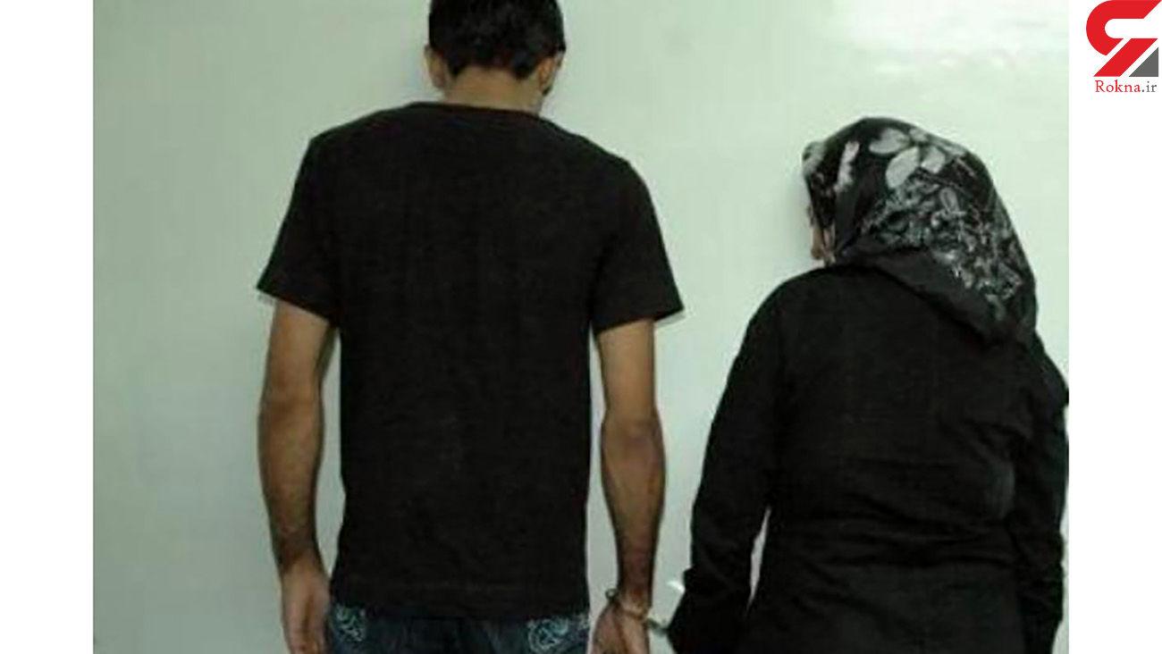 پراید قرمز رنگ راز زن و مرد مخوف تهرانی را فاش کرد