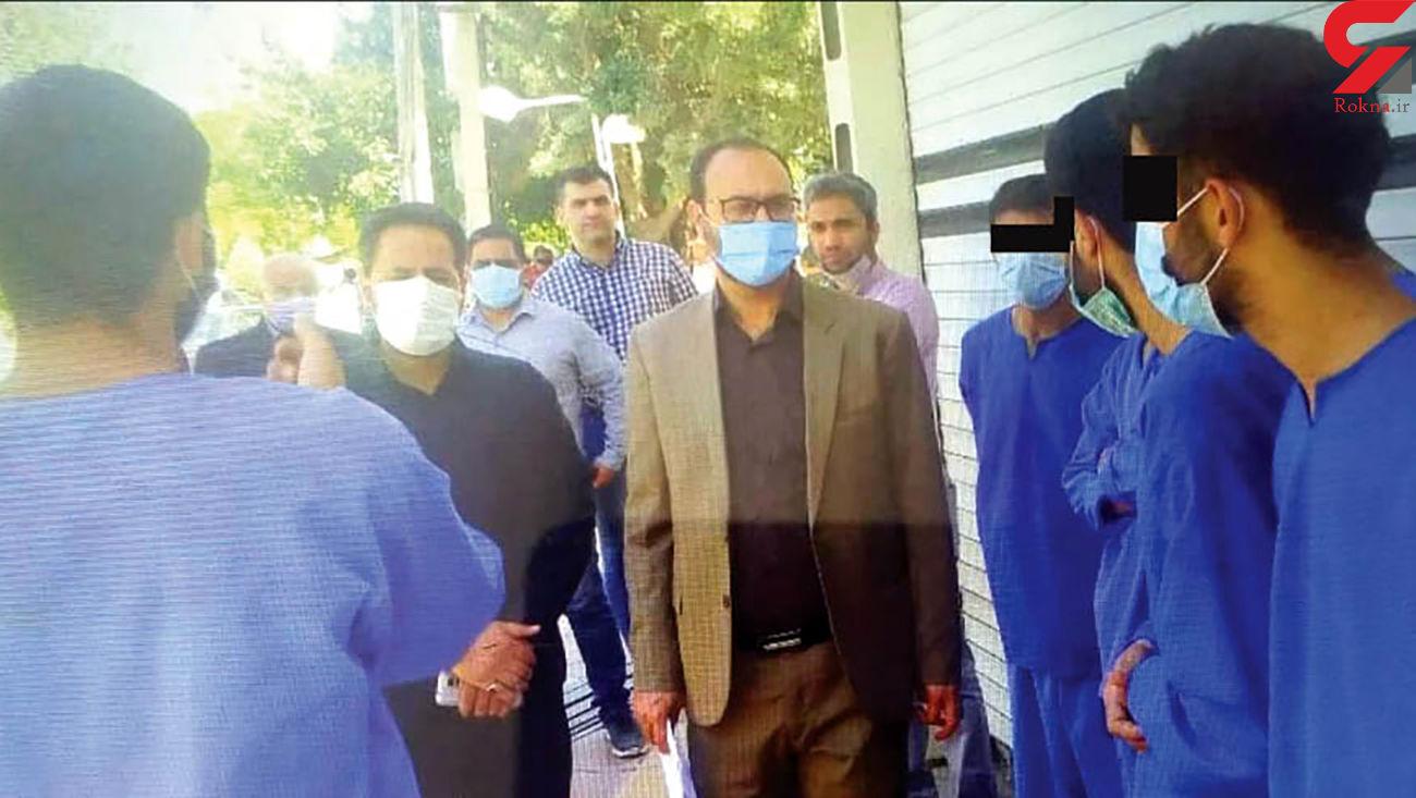 عکس / 3 جوان برای قتل به گاراژ رفتند / خون در مشهد فواره زد