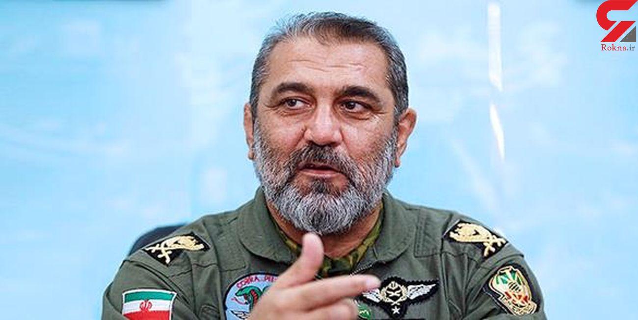 فرمانده هوانیروز ارتش: هر کسی می گوید هلی کوپترها به یاری زاگرس نرفته خود را اصلاح کند / آتش زاگرس در حال خاموش شدن + صوت