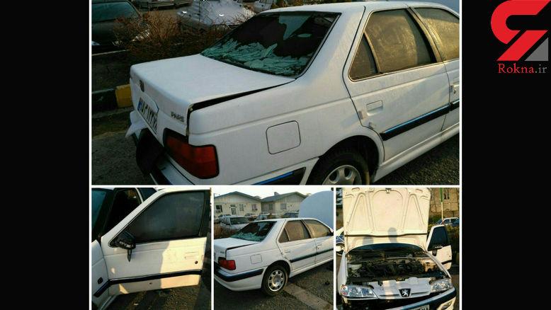 سارقان خودروی حمل پول بانک پاسارگاد در بزرگراه حقانی دستگیر شدند+ عکس