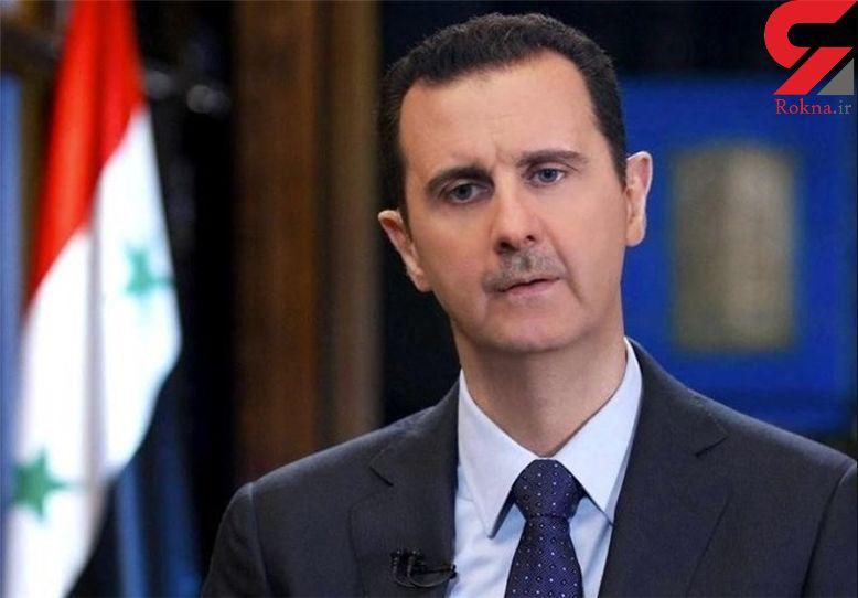بشار اسد ترکیه را تهدید به جنگ کرد