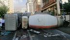 تصاویری از یک حادثه هولناک در آجودانیه