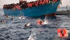 مرگ ۵۰ مهاجر در آبهای لیبی