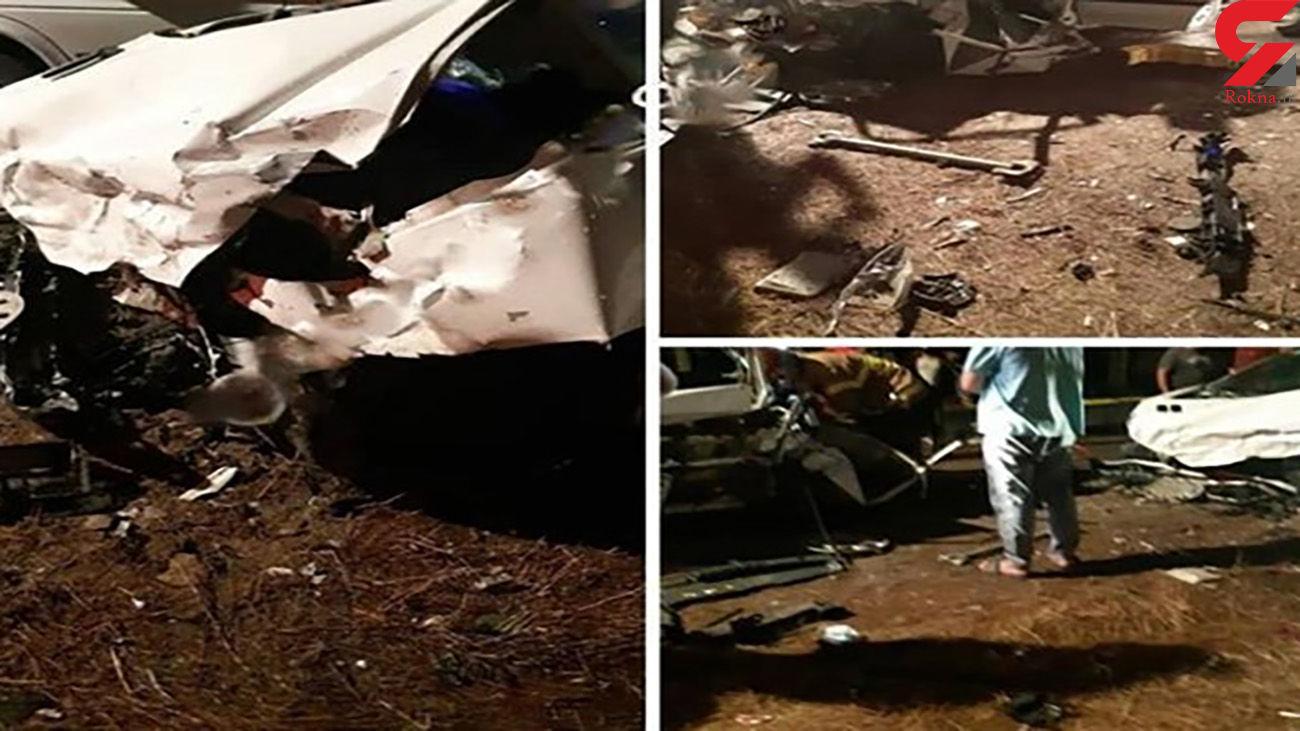 مرگ دلخراش زن و مرد مقابل چشمان دختر 3 ساله / در مازندران رخ داد