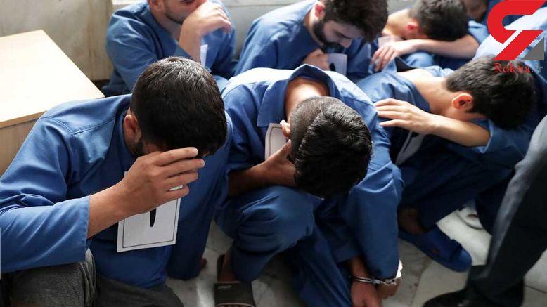 شبکه 6 نفره قاچاق شمش پلاتینیوم در مهاباد متلاشی شد