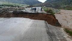 راه ارتباطی ۲۰ روستای معمولان قطع شد +عکس