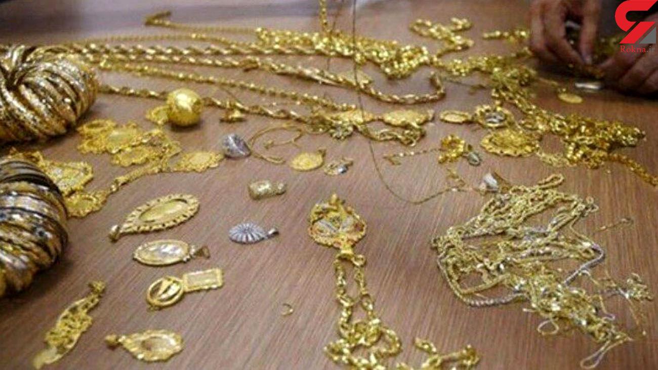 دستگیری سارقان طلا و جواهرات از منازل در مهاباد