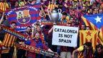 تمرین تیم بارسلونا در حمایت از اعتصاب سراسری کاتالونیا تعطیل شد