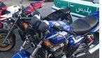 موتورسیکلتهای قاچاق در توقیف پلیس گیلان