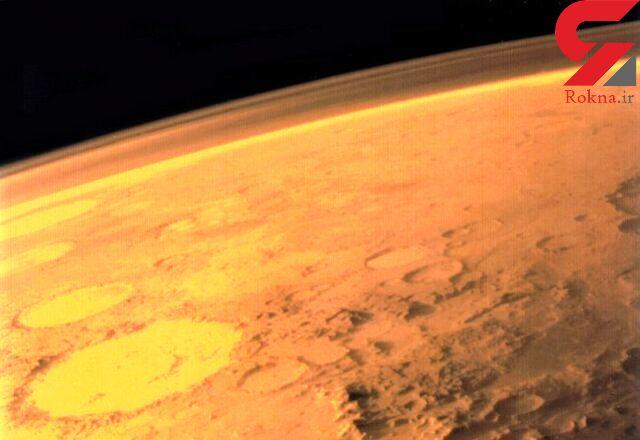 اتفاقی عجیب در مریخ/ ردپای طوفان گرد و غبار در سیاره سرخ