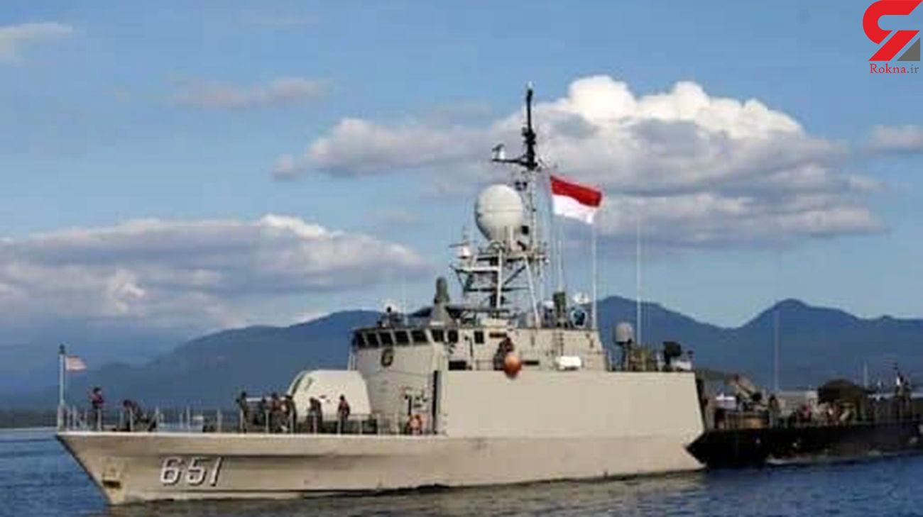 توقیف یک نفتکش توسط نیروی دریایی اندونزی