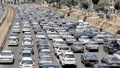 ترافیک در آزادراه کرج_ تهران نیمه سنگین است/ بارش برف و باران در استانهای اردبیل و خراسان جنوبی