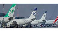 توقف هواپیماها در پارکینگ فرودگاهها / پرداخت حقوق پرسنل شرکتها در گرو بسته حمایتی دولت