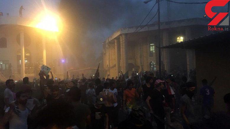 فوری / داعش مسئولیت حمله به کنسولگری ایران را پذیرفت + عکس
