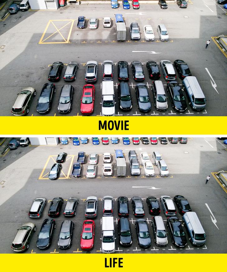 ۱۲ اتفاق غیر منطقی که فقط در فیلمهای سینمایی رخ میدهد + تصاویر