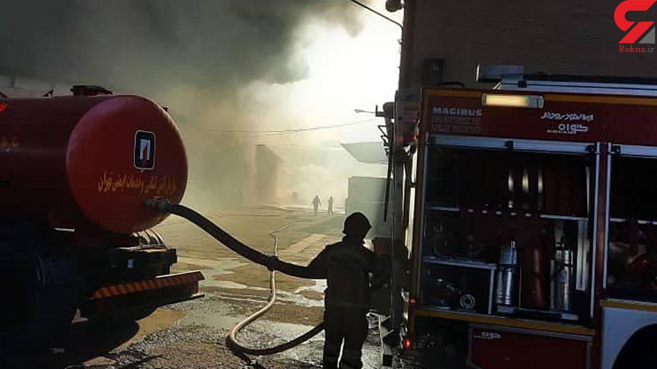 آخرین جزئیات از آتش سوزی هولناک در کارخانه بهنوش / علت آتش سوزی + عکس و فیلم