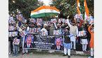 تظاهرات مسلمانان هند علیه سفر نتانیاهو به این کشور