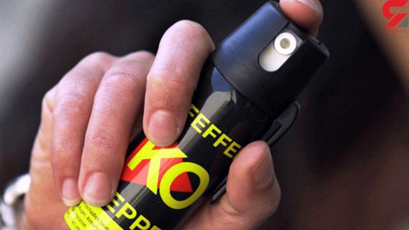 خطر کرونا با انتشار گاز اشک آور
