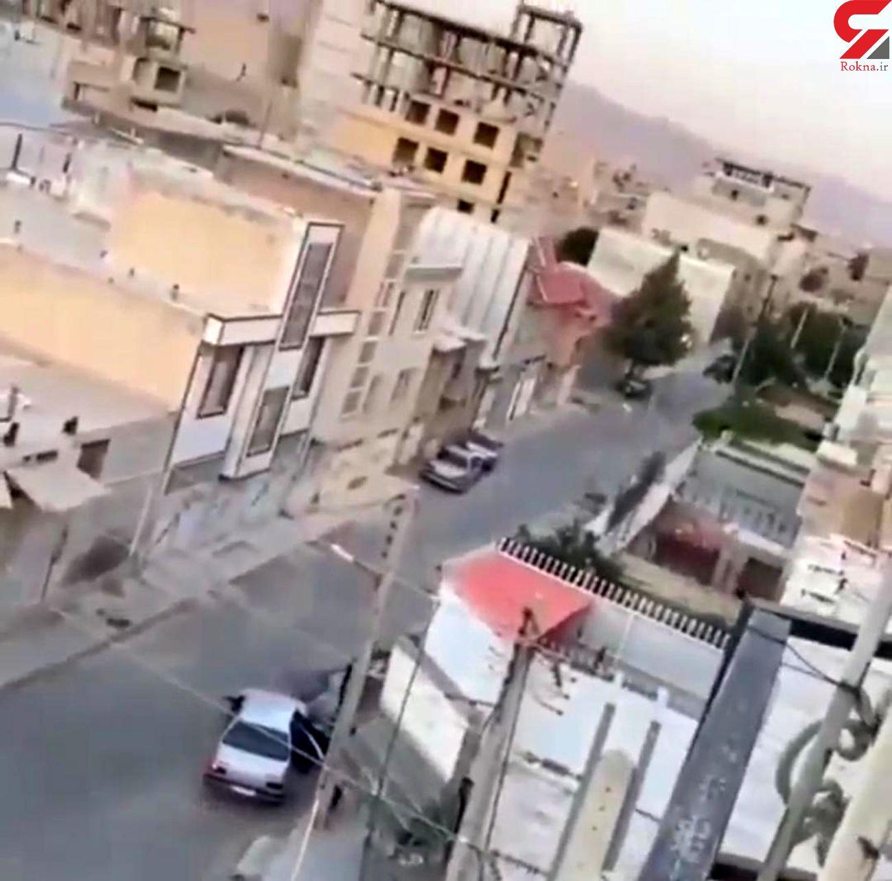 سرقتی عجیب با سلاح گرم در کرمانشاه + فیلم