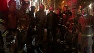 آتش سوزی هولناک در سالن تئاتر هامون / شب گذشته رخ داد + عکس