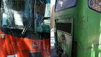تصادف خونین 2 اتوبوس  در جاده راور