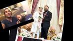 تازه عروس سینمای ایران در خواب ریش های شوهرش را به کمک رضا یزدانی زد+ فیلم