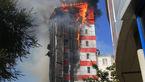 آتش سوزی ویرانگر هتل لوکس در روسیه + فیلم