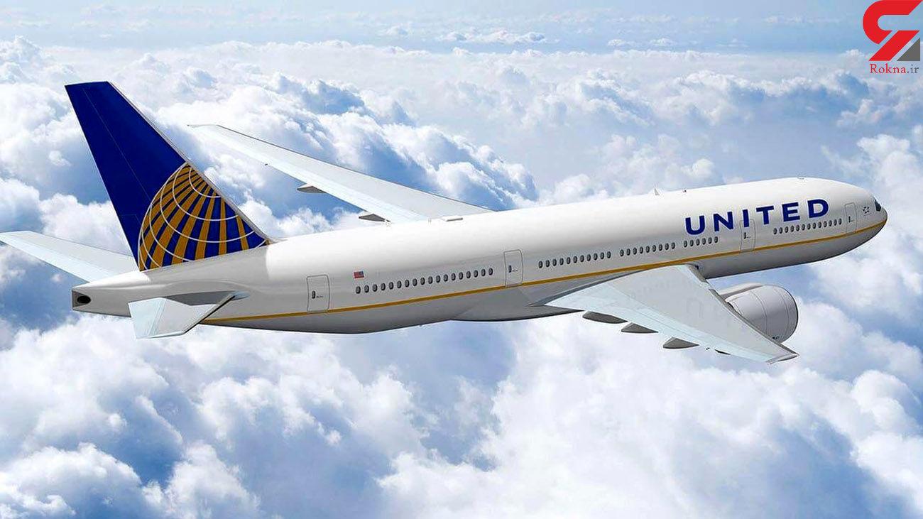 شرکت هوایی یونایتد آمریکا در ماه ژوئن فقط به 12 درصد کارمندانش نیاز دارند