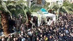 گزارش تصویری از تشییع با شکوه شهید حججی