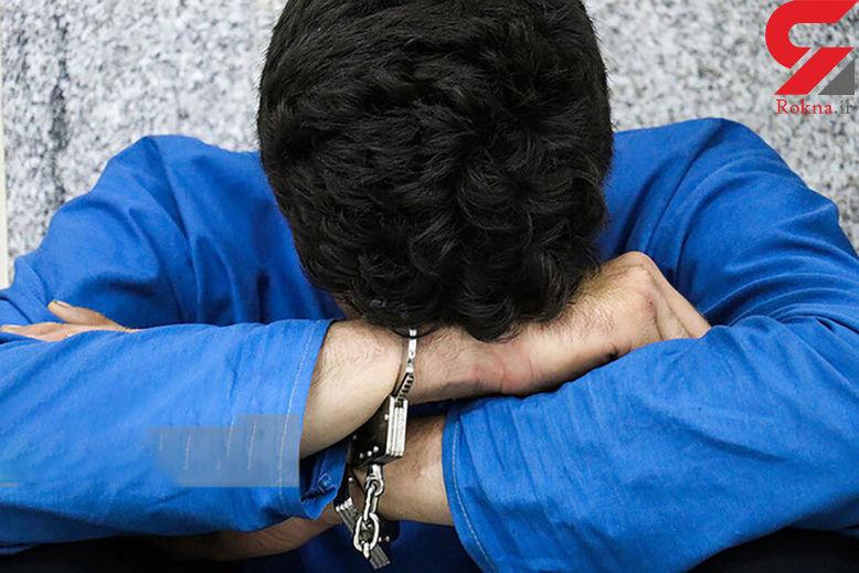 سارق حرفهای در عملیات غافلگیرانه پلیس به دام افتاد