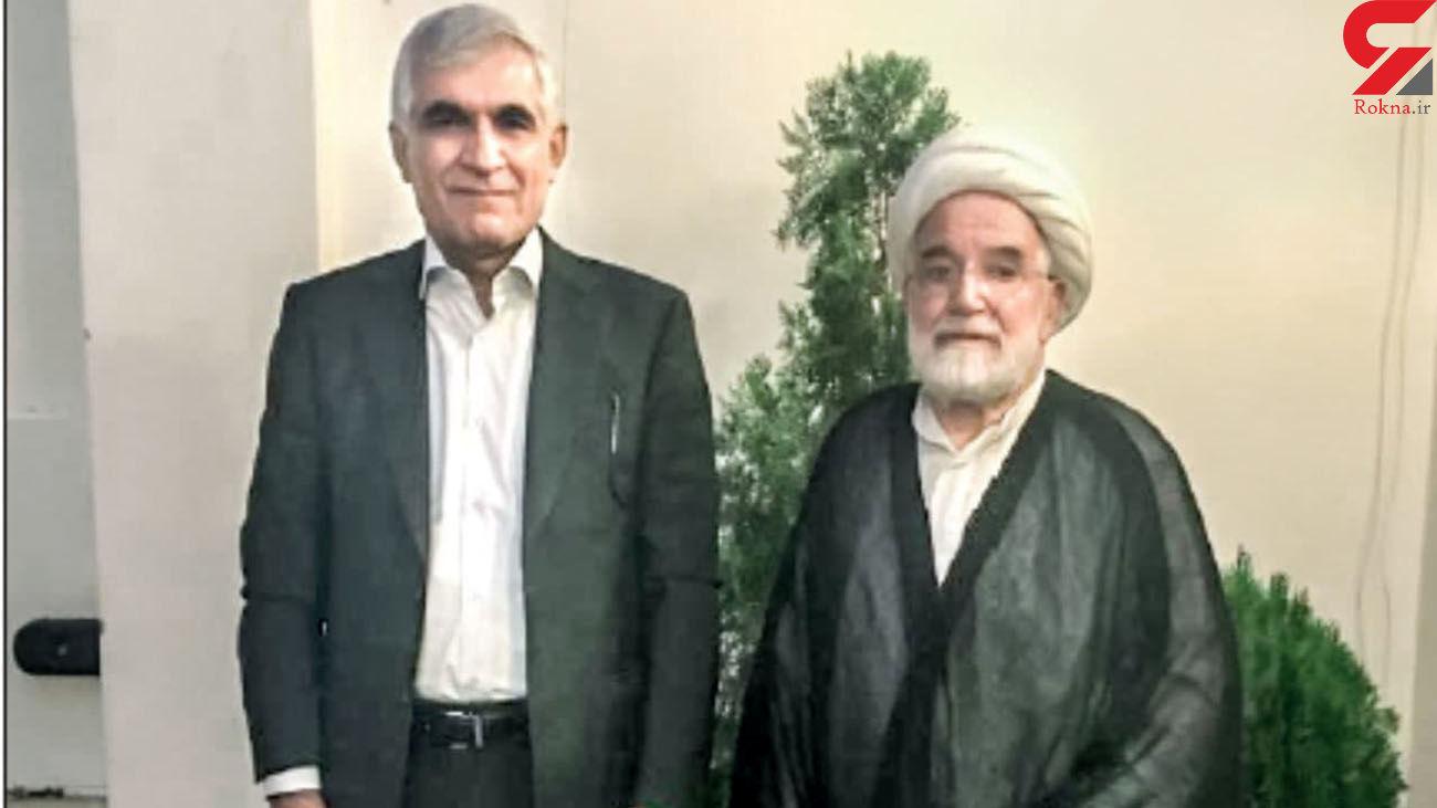 شهردار اسبق تهران به دیدار کروبی رفت