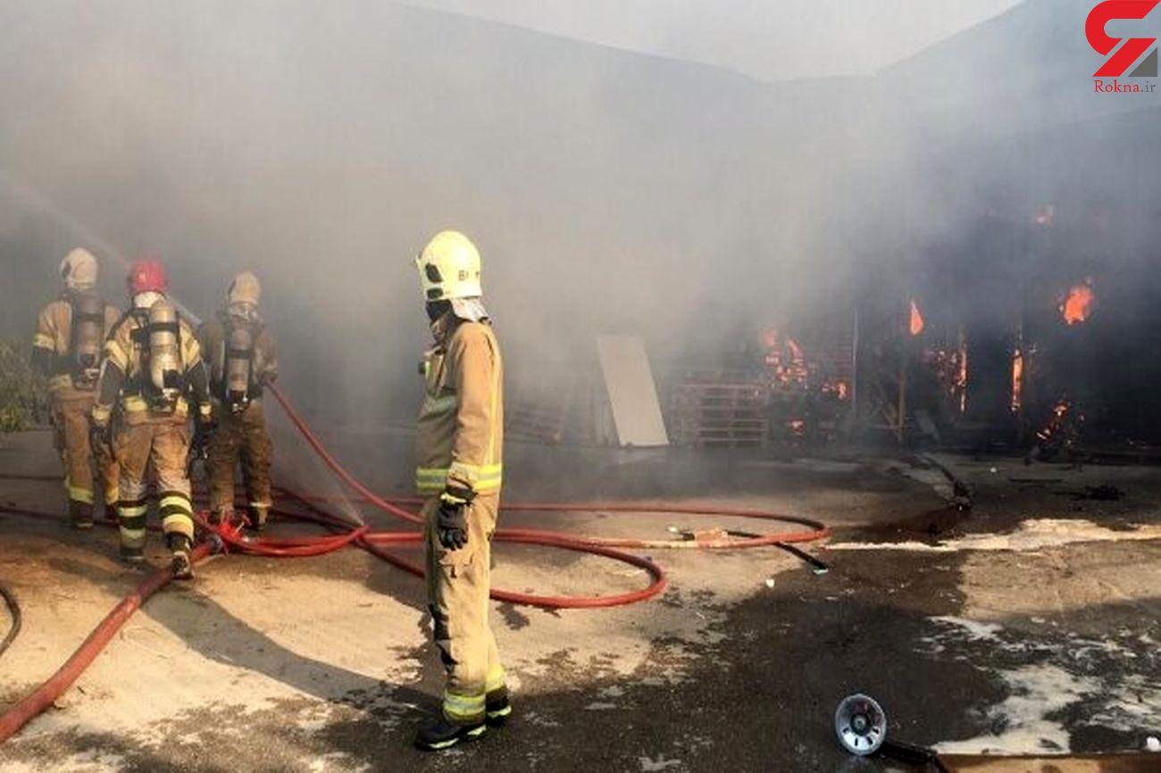 روز پر حادثه برای آتش نشانان شیرازی