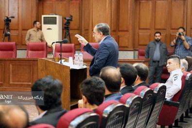 جلسه سوم دادگاه نجفی