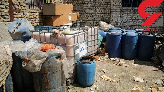 تولید مشروبات الکلی در گاوداری+عکس