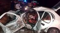 مرگ تلخ 3 مسافر شیرازی در تصادف تیبا با نیسان+ عکس