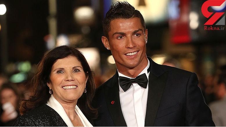 مادر رونالدو: اگر مافیا نبود پسرم توپ طلاهای بیشتری میبرد!