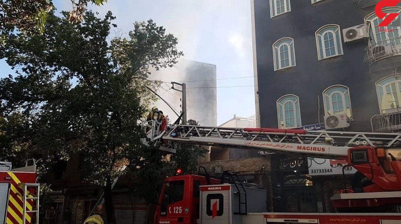 انفجار مهیب و مرگبار در تهران + عکس ها