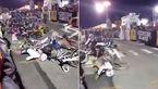 برخورد زنجیره ای دختران دوچرخه سوار در یک مسابقه / دست وپای 15 دختر شکست+ فیلم و عکس
